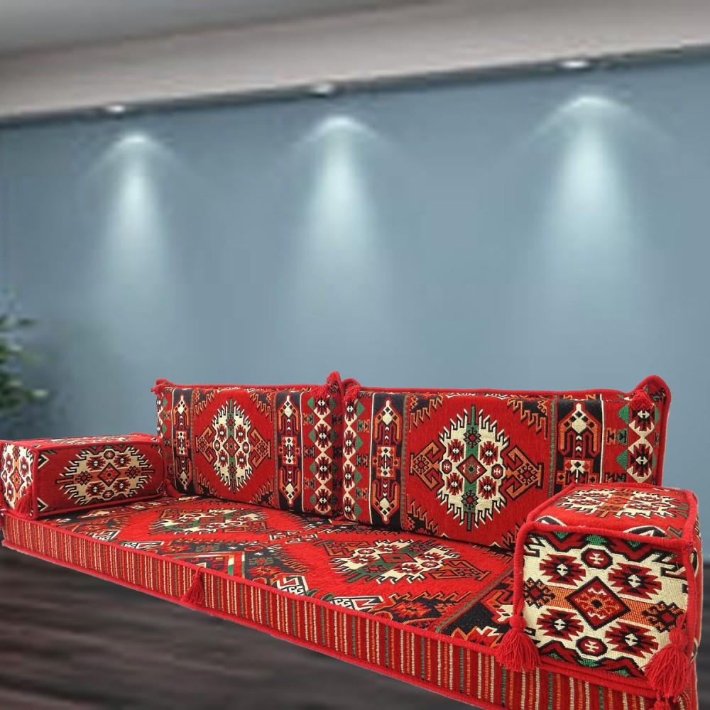 Larsa Three Seater Majlis Floor Sofa Couch