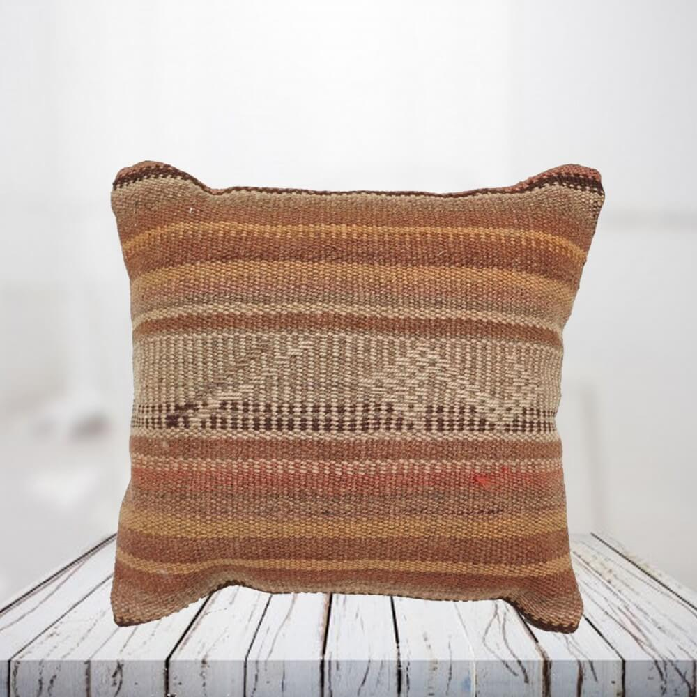 Handwoven Turkish kilim pillow case - SHI_PC06