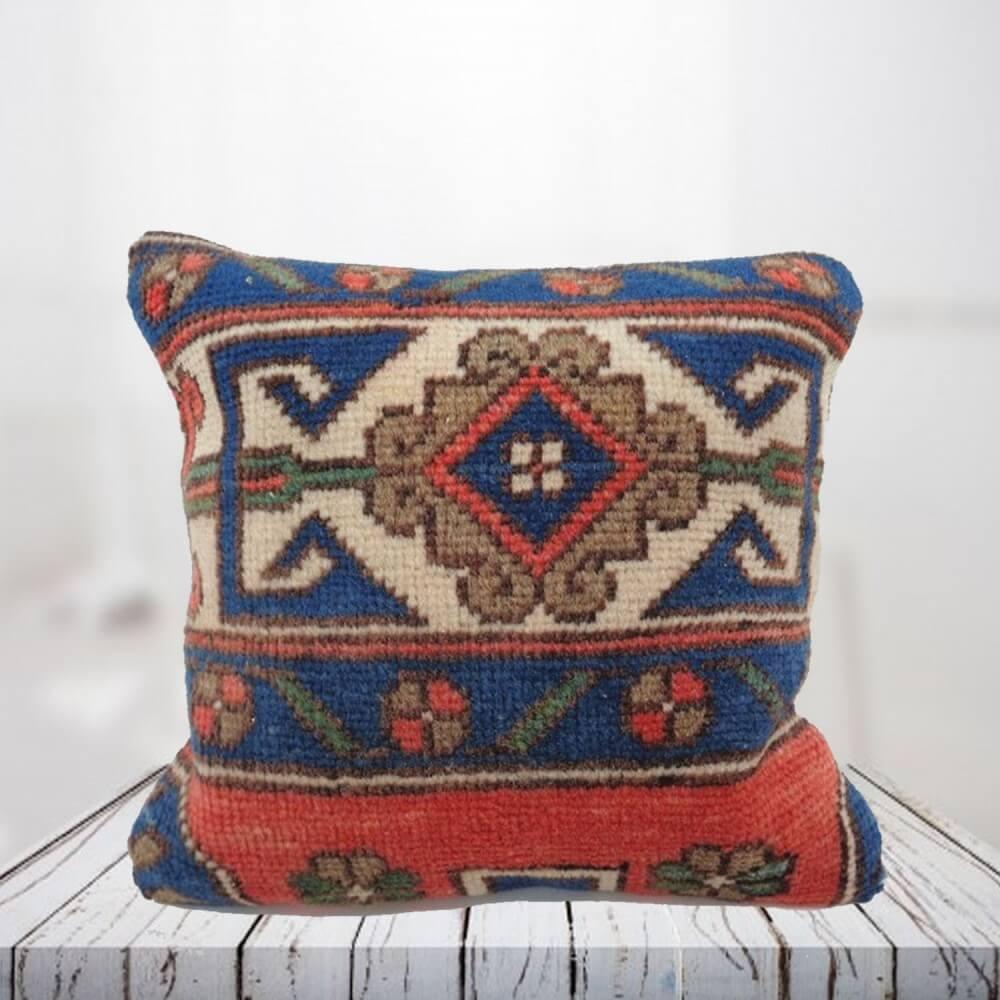 Handwoven Turkish kilim pillow case - SHI_PC07