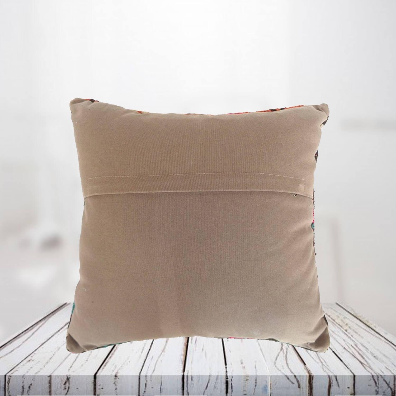 Handwoven Turkish kilim pillow case - SHI_PC08