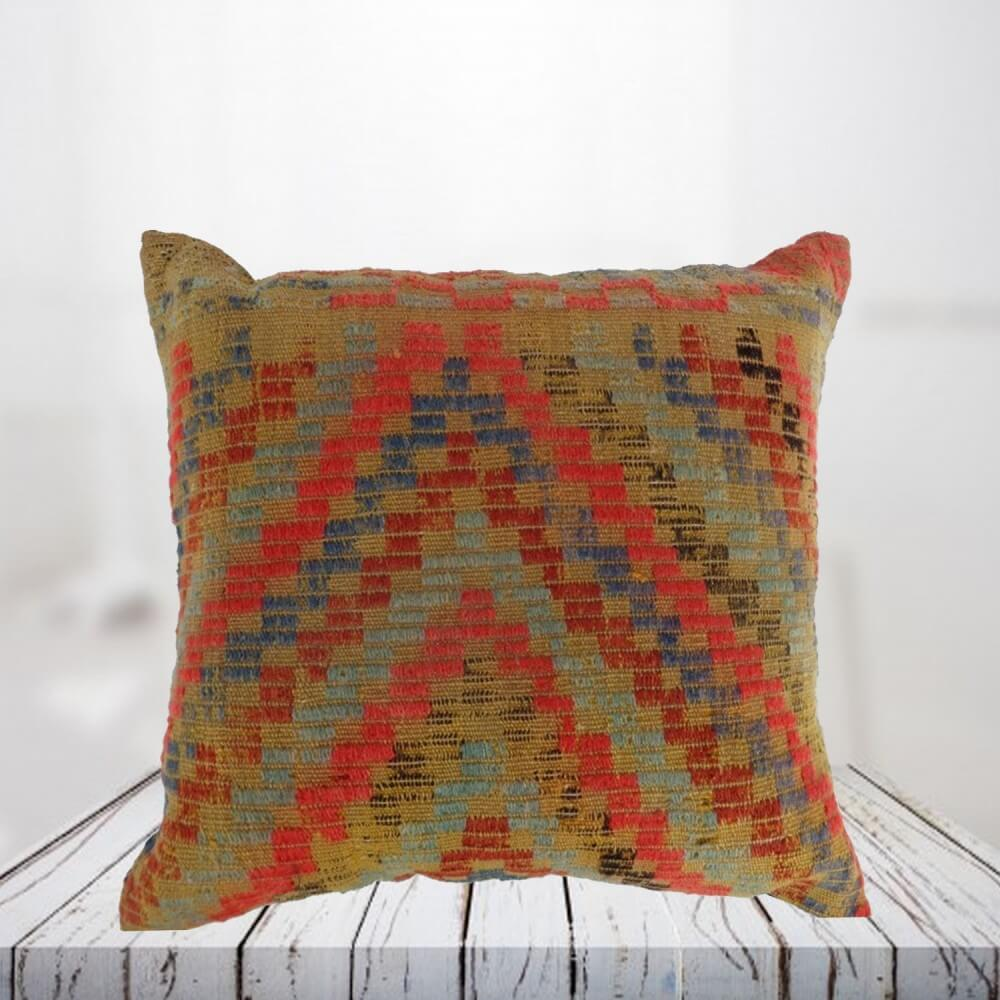 Handwoven Turkish kilim pillow case - SHI_PC08
