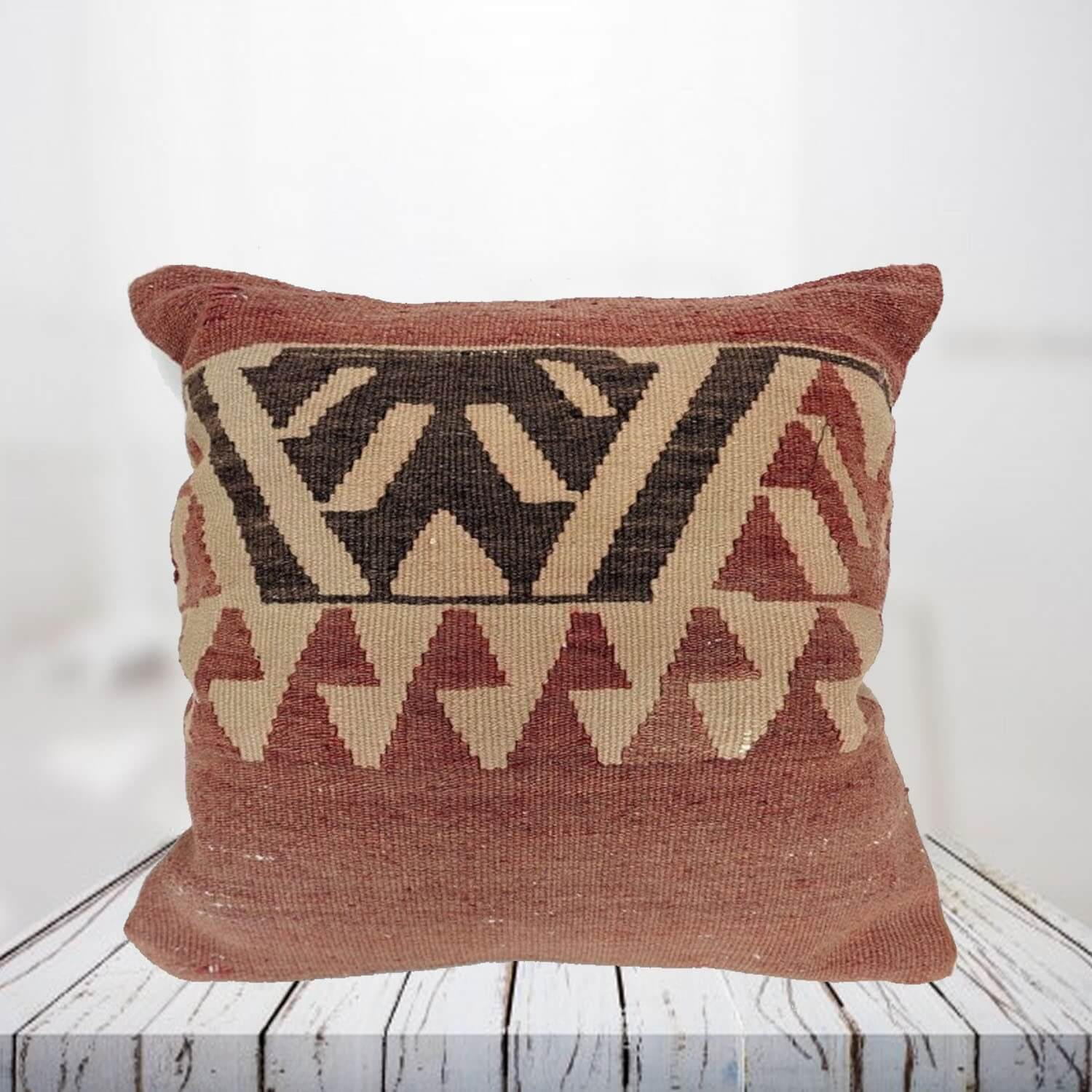 Handwoven Turkish kilim pillow case - SHI_PC18