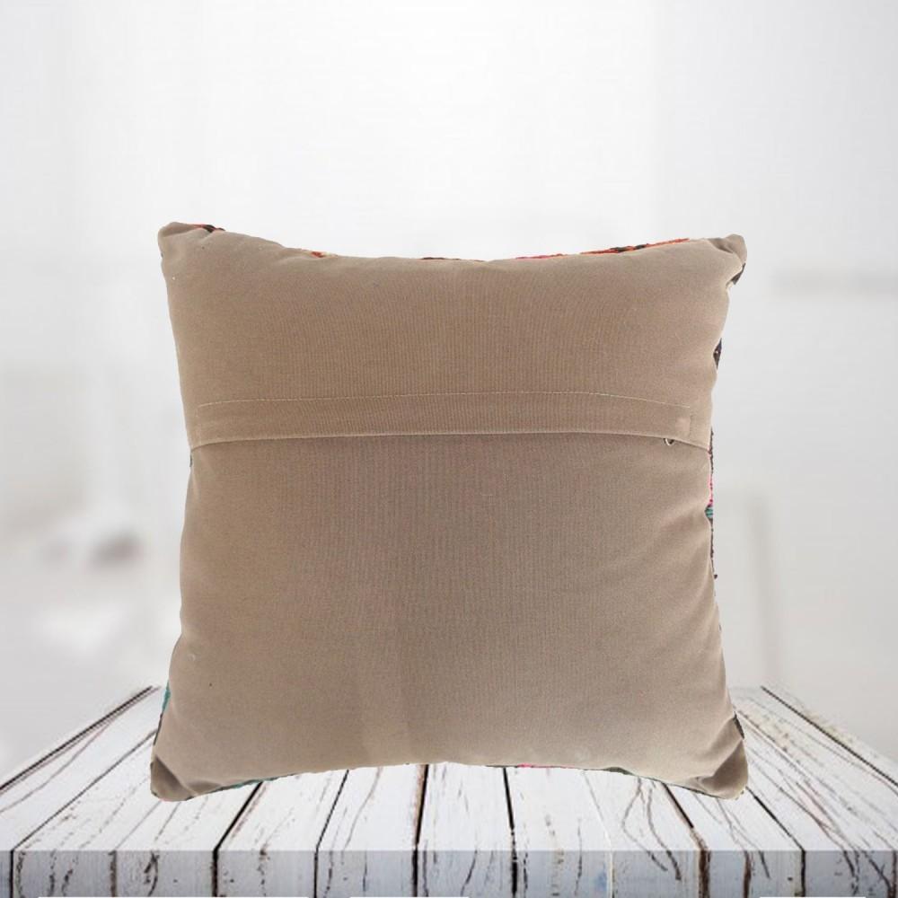 Handwoven Turkish kilim pillow case - SHI_PC22