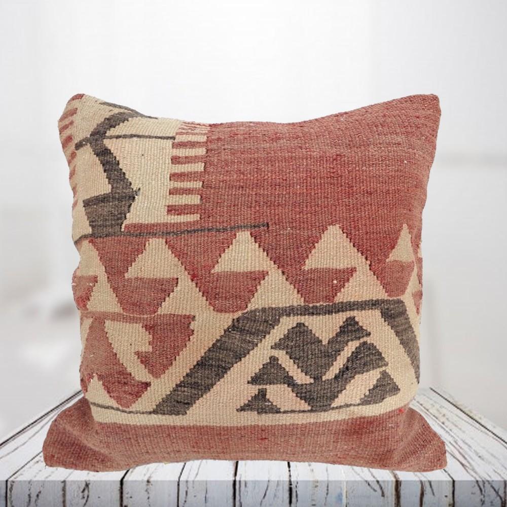 Handwoven Turkish kilim pillow case - SHI_PC24