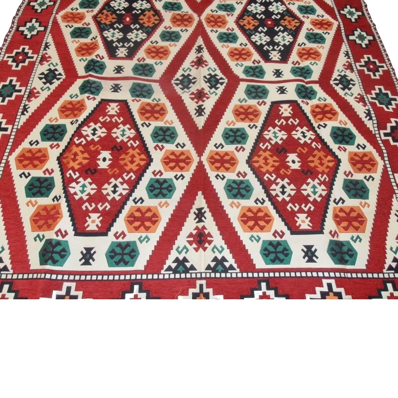 300 x 200 cm Machine woven oriental Turkish kilim rug