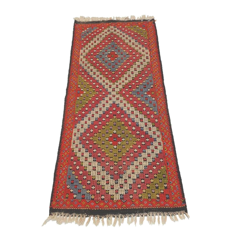 145 x 80 cm Handwoven oriental kilim rug - SHI_KR06