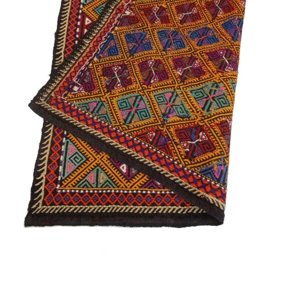 215 x 190 cm Handwoven oriental kilim rug - SHI_KR09