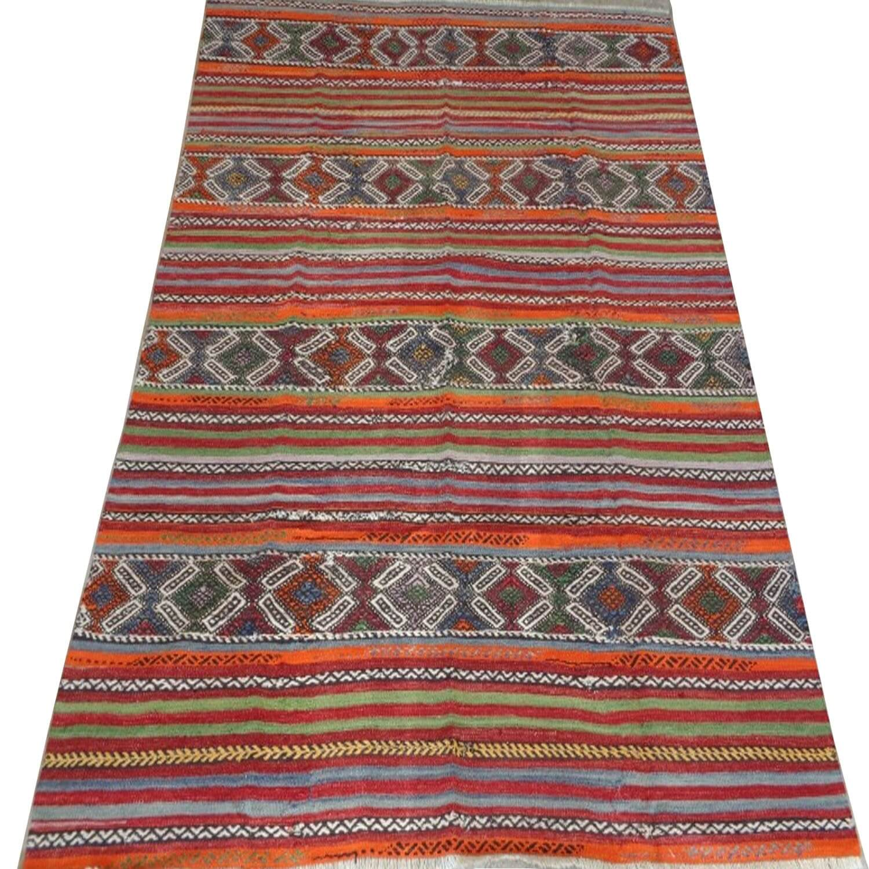 230 x 148 cm Handwoven oriental kilim rug - SHI_KR10