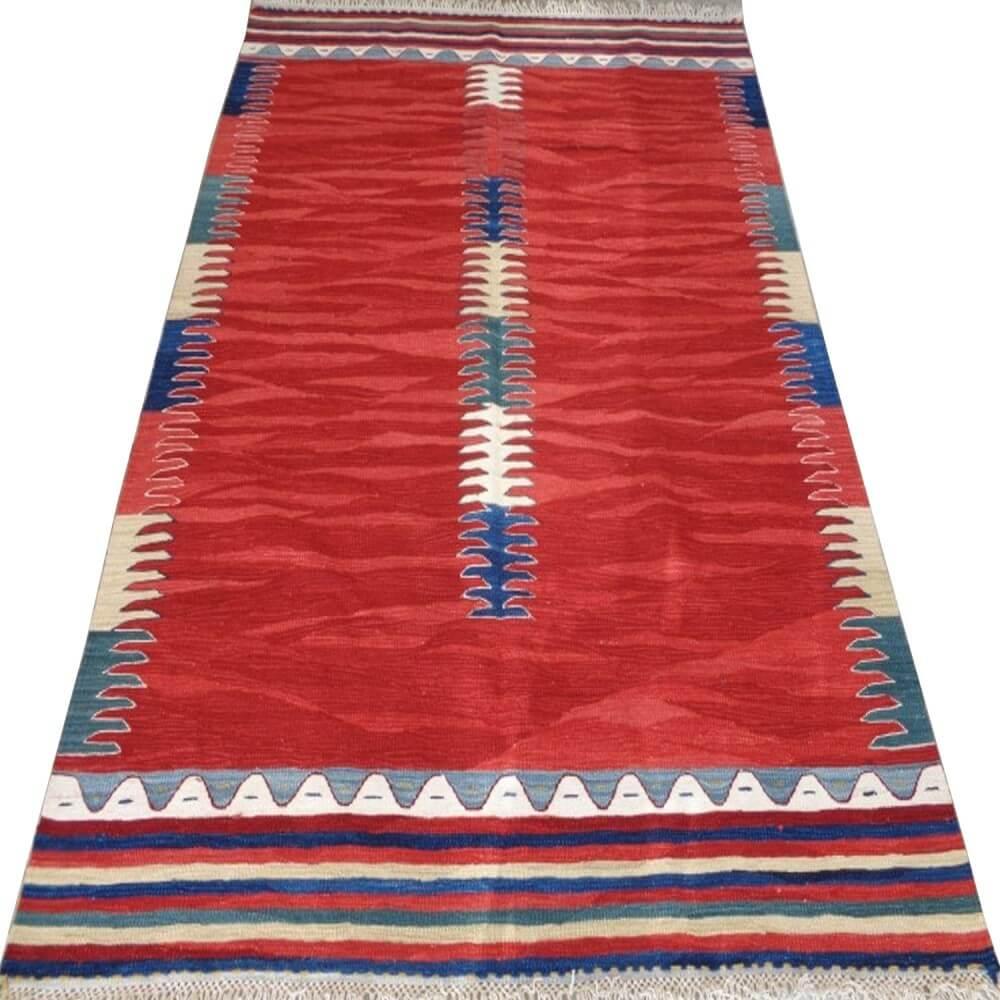 245 x 175 cm Handwoven oriental kilim rug - SHI_KR11
