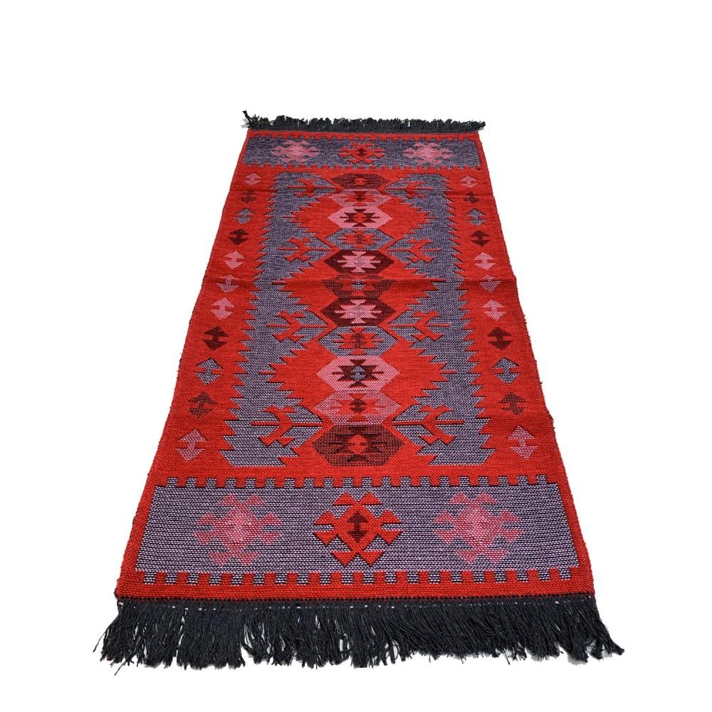 120 x 60 cm reversible oriental Turkish kilim runner