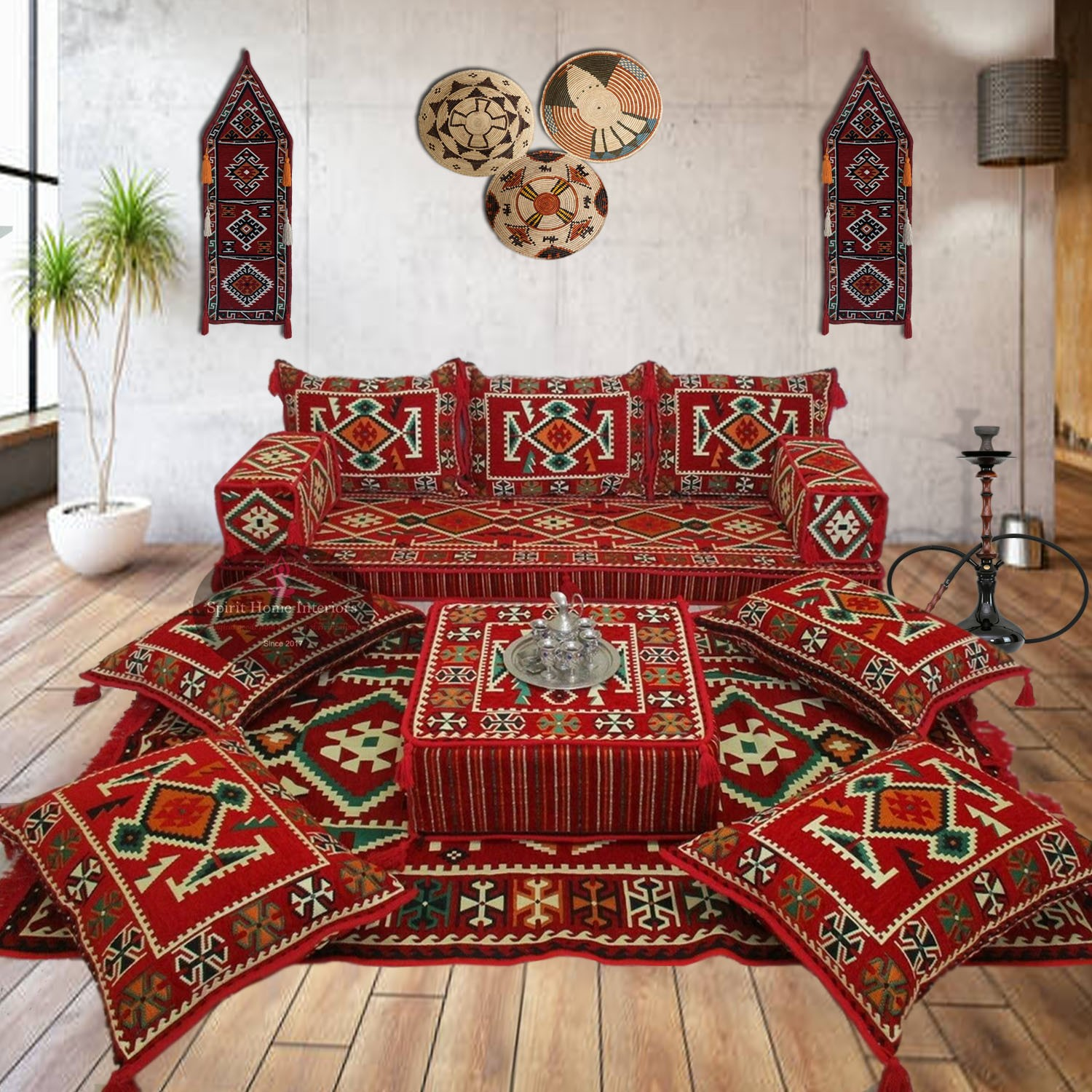 14 pieces Arabic style home furnishing set