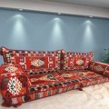 Floor sofa with double back pillows - SHI_FS246