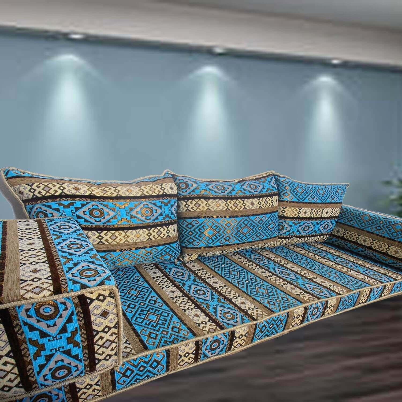 Maria-1 Three Seater Majlis Floor Sofa Couch